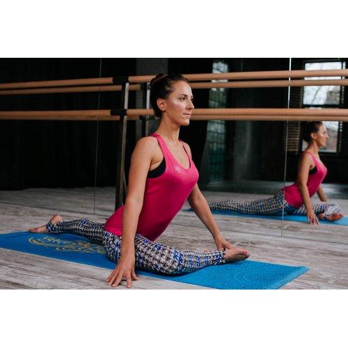 Лосины для йоги и фитнеса с пяткой