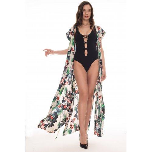 """Пляжный халат """" Рио-де-Жанейро"""" в мятном оттенке"""